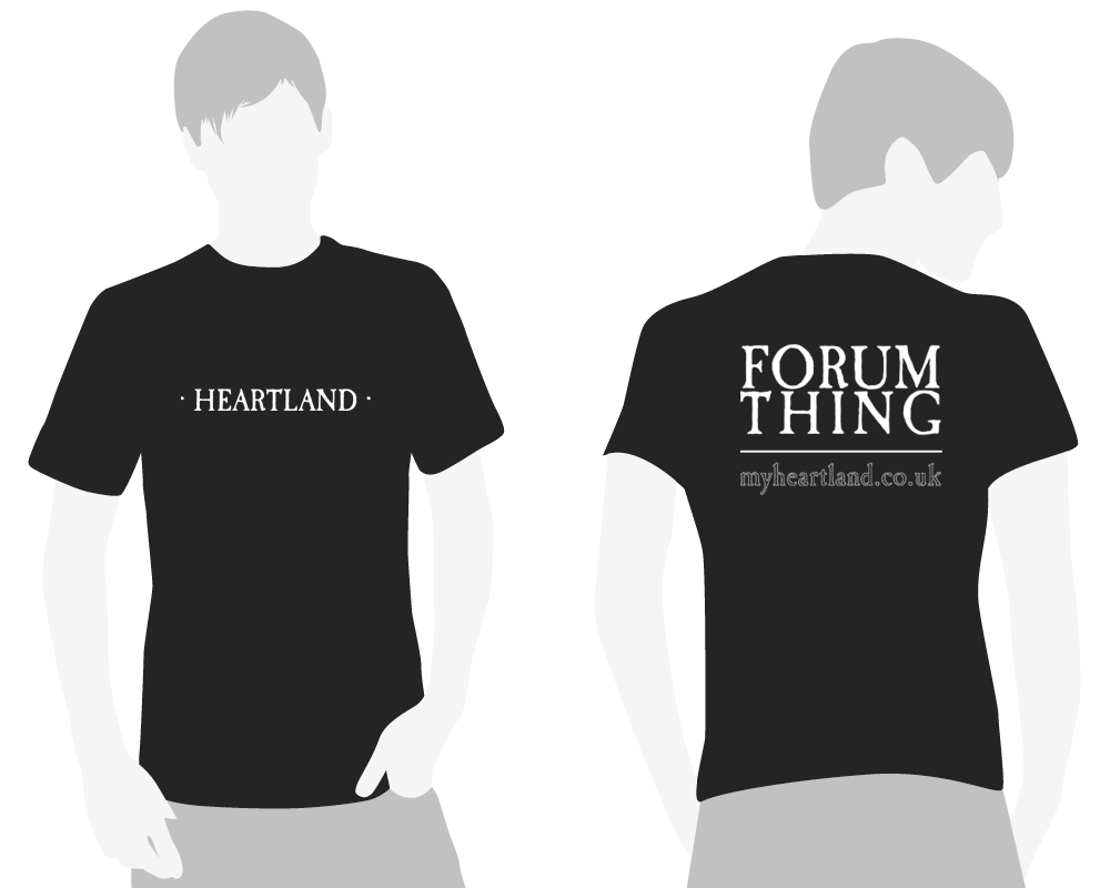 Heartland FORUM THING T-shirt